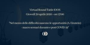 Virtual Round Table IOOS